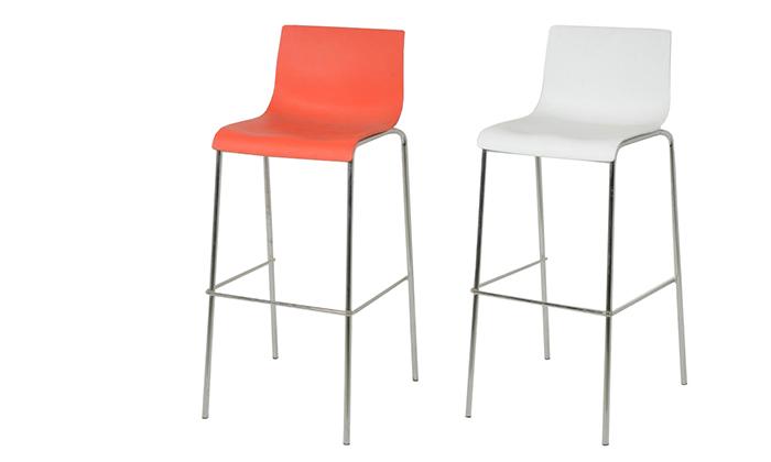 2 כיסא בר SUN DESIGN HOME דגם 3308B