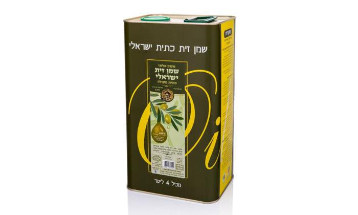 2 4 או 8 ליטר שמן זית כתית וכשר למהדרין של משק אלוני במשלוח חינם