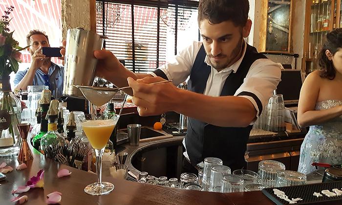 12 סדנת קוקטיילים LIVE בהנחית המומחים של Mixta Cocktails
