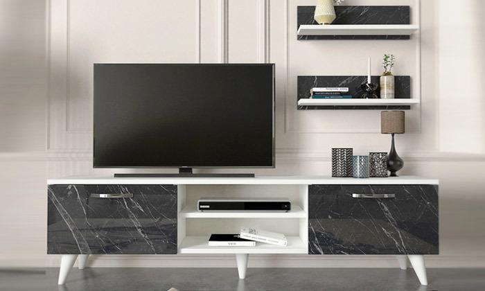 2 מזנון טלוויזיה דגם MARBLE
