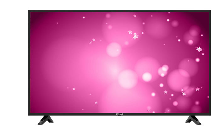 2 טלוויזיה חכמה 55 אינץ' SONAB 4K