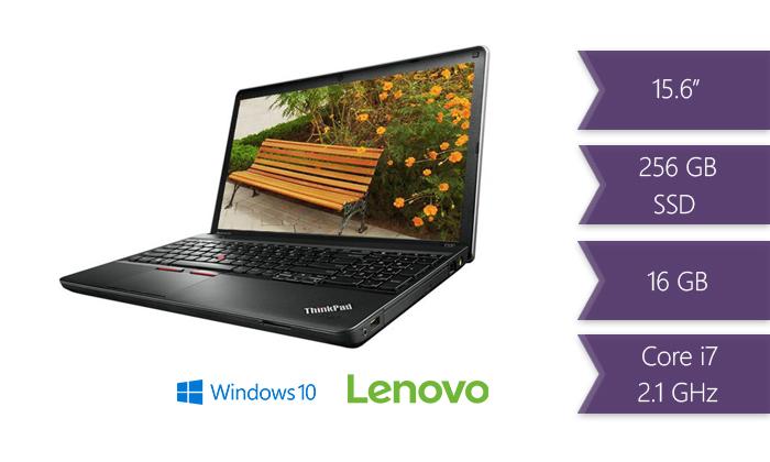 2 מחשב נייד Lenovo ThinkPad Edge עם מסך 15.6 אינץ' - משלוח חינם