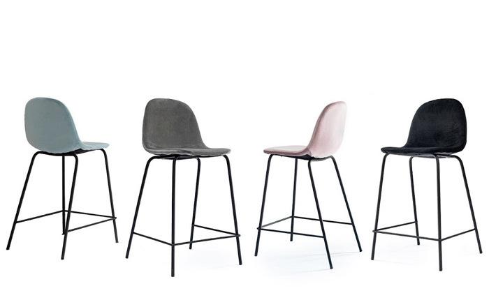 2 כיסא בר מרופד TAKE IT במגוון צבעים לבחירה