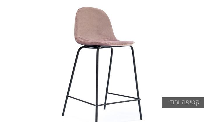 3 כיסא בר מרופד במבחר צבעים