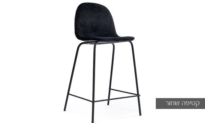 6 כיסא בר מרופד במבחר צבעים