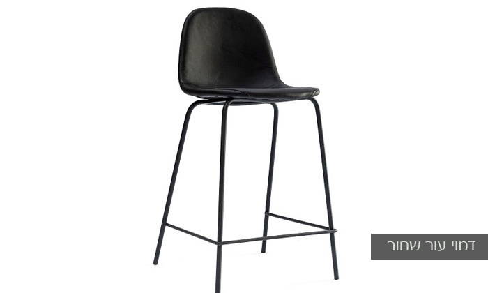 8 כיסא בר מרופד במבחר צבעים