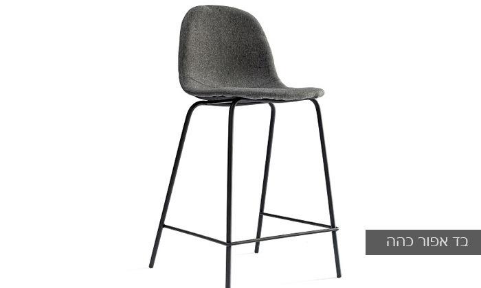 9 כיסא בר מרופד במבחר צבעים