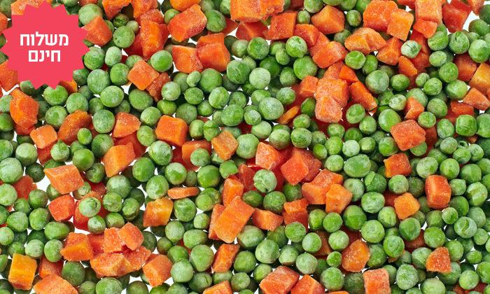 6 מארזי ירקות קפואים במשלוח חינם עד הבית מחדרה ועד הרצליה