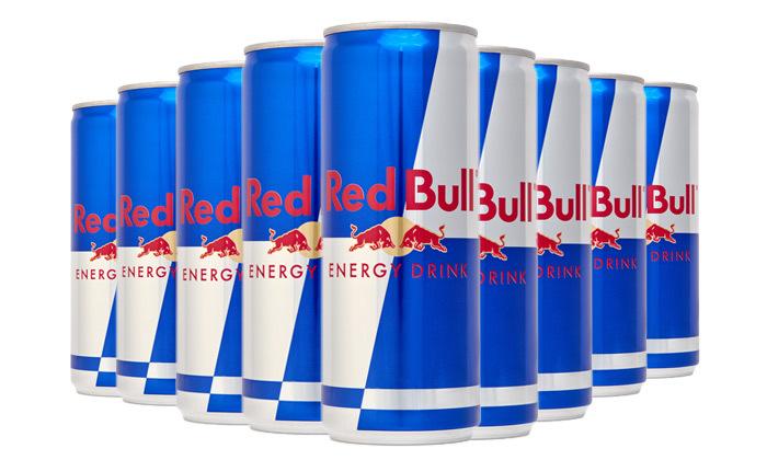 2 24 פחיות רד בול משקה אנרגיה, איסוף מרשת חינאווי משקאות