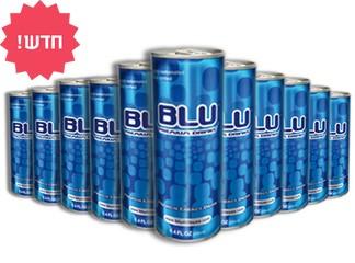 24 פחיות BLUמשקה אנרגיה