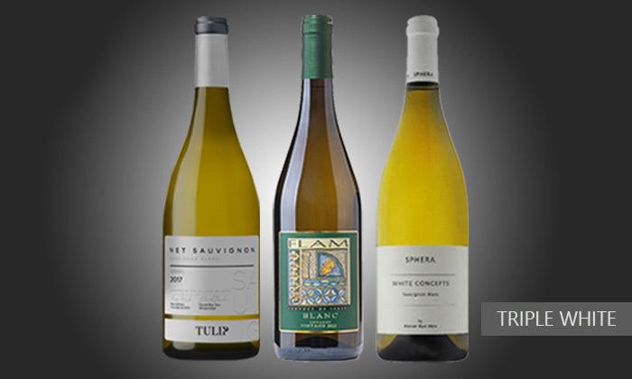 3 מבחר מארזי יינות מ-House of Wine במשלוח חינם לכל רחבי הארץ