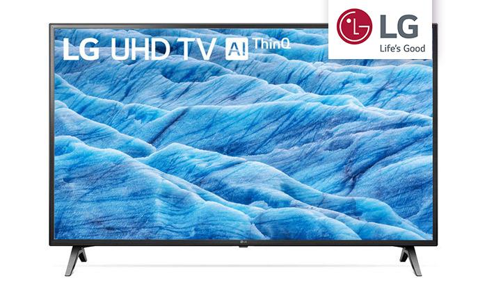 2 טלוויזיה חכמה 65 אינץ' של LG