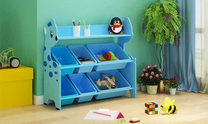 2 ארגונית צעצועים לחדר ילדים