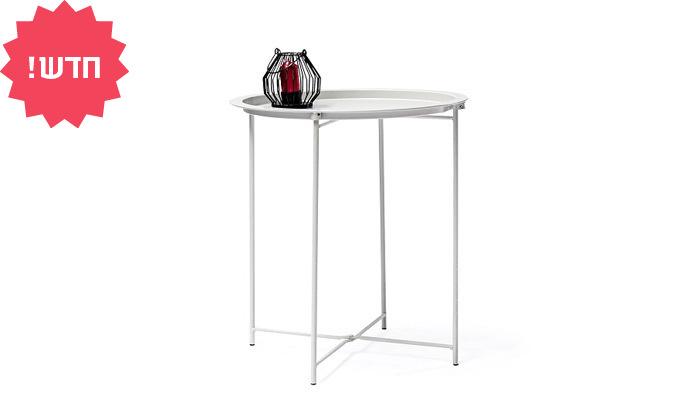 5 שולחן קפה ממתכת - מגוון צבעים לבחירה