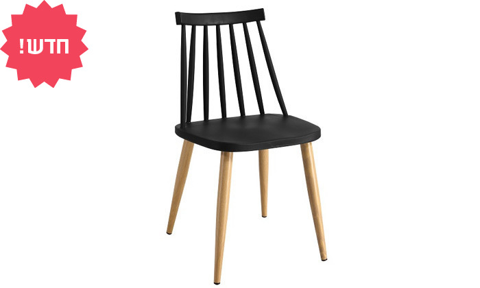 7 כיסא אוכל בעל מושב פלסטיק