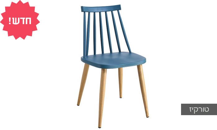 5 כיסא אוכל בעל מושב פלסטיק