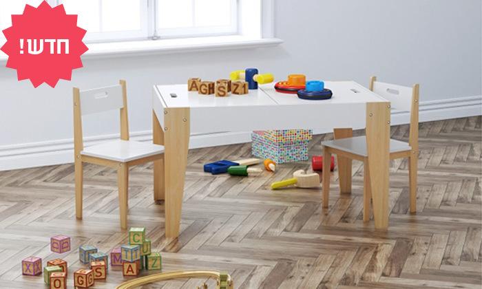2 שולחן וכיסאות לחדר ילדים