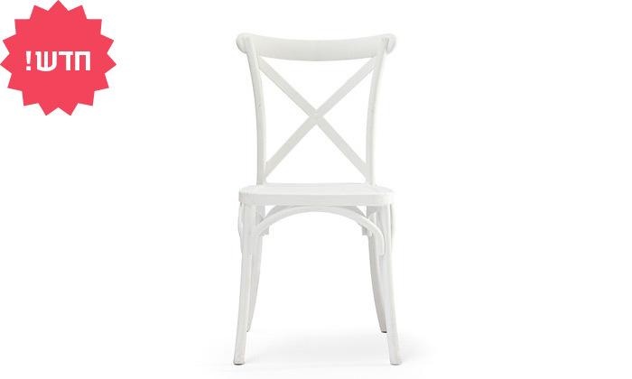 4 כיסא מפלסטיק לפינת אוכל