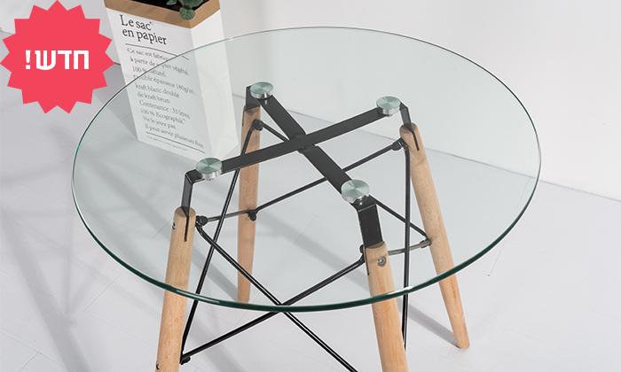 3 שולחן אוכל עגול דגם דה וינצ'י