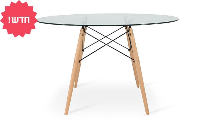 6 שולחן אוכל עגול דגם דה וינצ'י