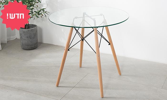 2 שולחן אוכל עגול דגם דה וינצ'י