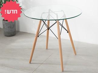 שולחן אוכל עגול דגם דה וינצ'י