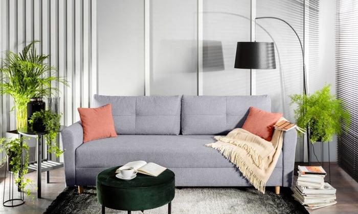 6 ספה תלת-מושבית נפתחת דגם טורינו של שמרת הזורע