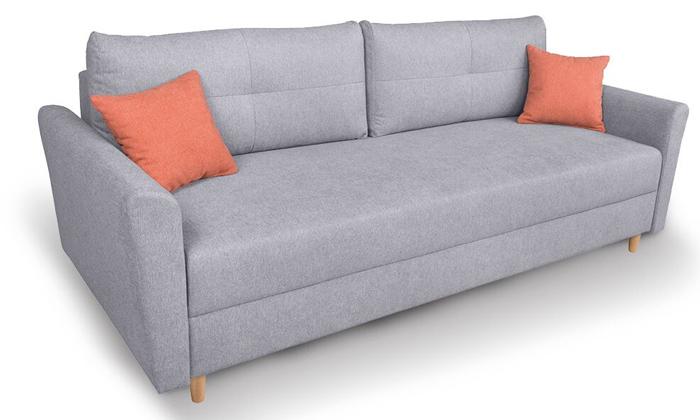 3 ספה תלת-מושבית נפתחת דגם טורינו של שמרת הזורע