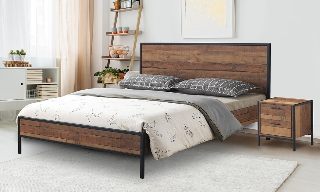 9 מיטה זוגית דגם קריסטל של שמרת הזורע - מגוון גדלים לבחירה