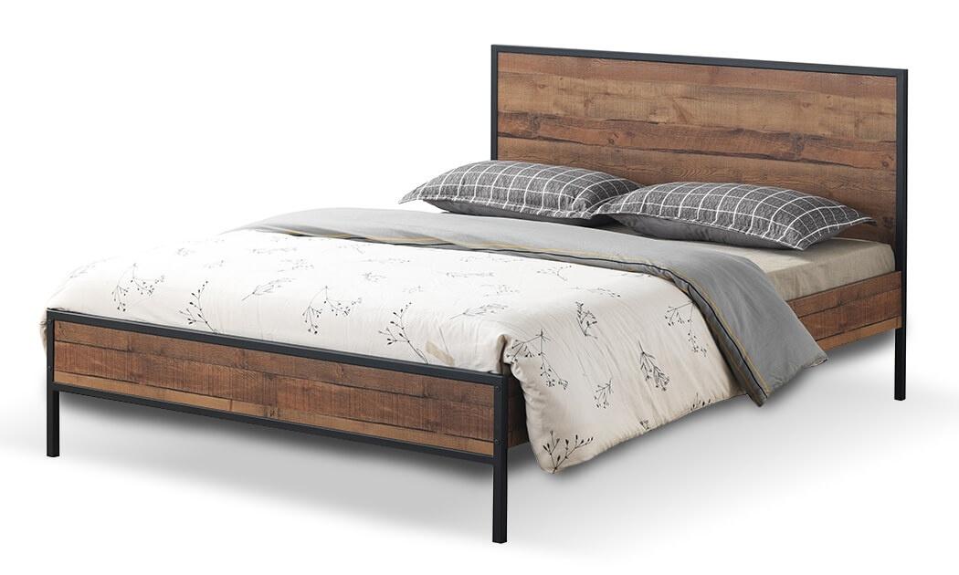 3 מיטה זוגית דגם קריסטל של שמרת הזורע - מגוון גדלים לבחירה