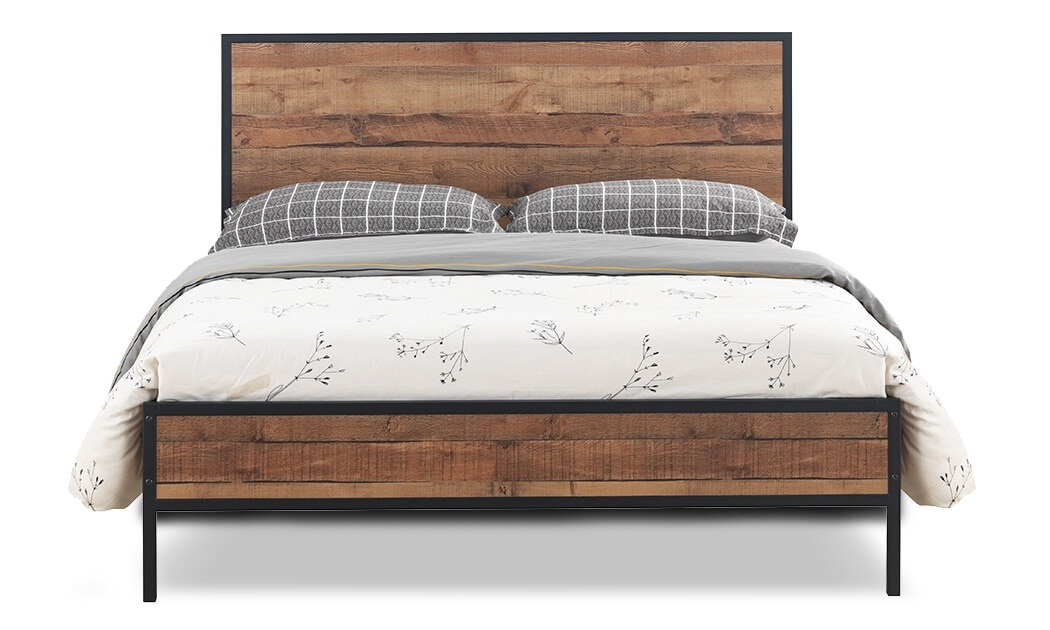 4 מיטה זוגית דגם קריסטל של שמרת הזורע - מגוון גדלים לבחירה