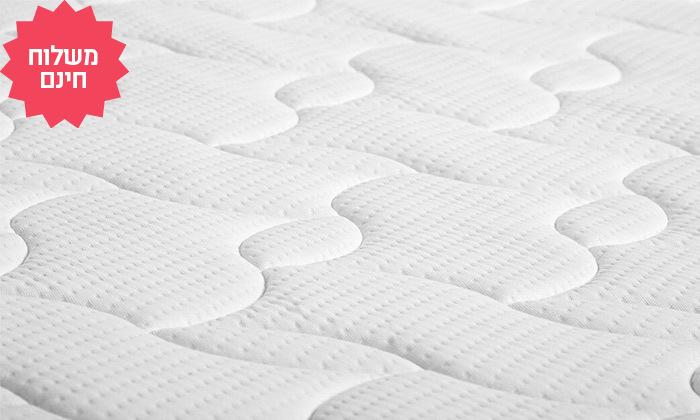 5 מזרן אורתופדי דו צדדי דגם סקין של שמרת הזורע - משלוח חינם
