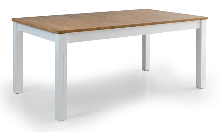 4 שולחן אוכל נפתח דגם קוליסאום ו-6 כיסאות דגם אלבינו - שמרת הזורע