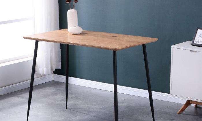 2 שולחן בר מעץ