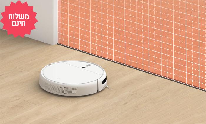 7 שואב אבק רובוטי שוטף של שיאומי XIAOMI, משלוח חינם
