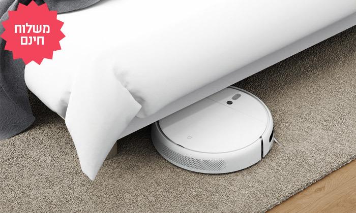 6 שואב אבק רובוטי שוטף של שיאומי XIAOMI, משלוח חינם