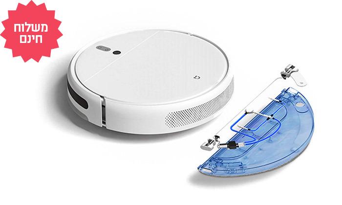 4 שואב אבק רובוטי שוטף של שיאומי XIAOMI, משלוח חינם