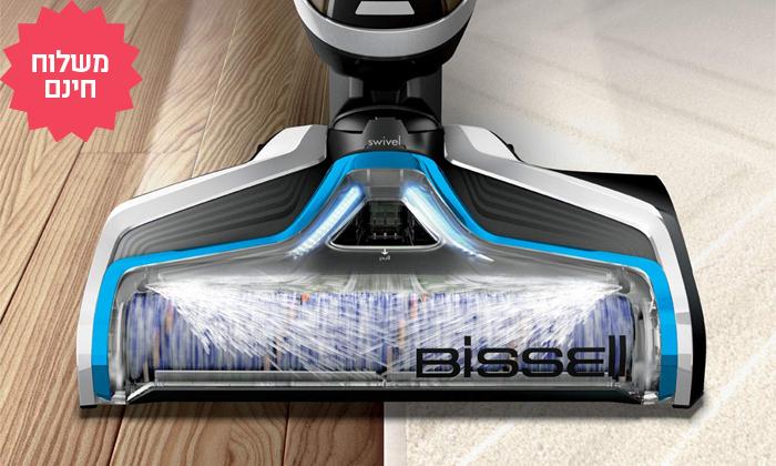 6 שואב אבק ושוטף רצפות אלחוטי של Bissell, משלוח חינם