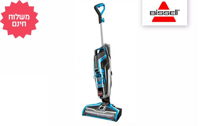 2 שואב אבק ושוטף רצפות של BISSELL, משלוח חינם