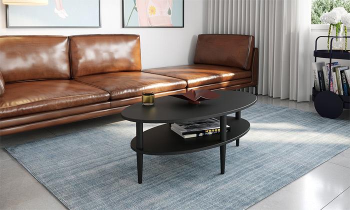 5 שולחן סלון אליפטי