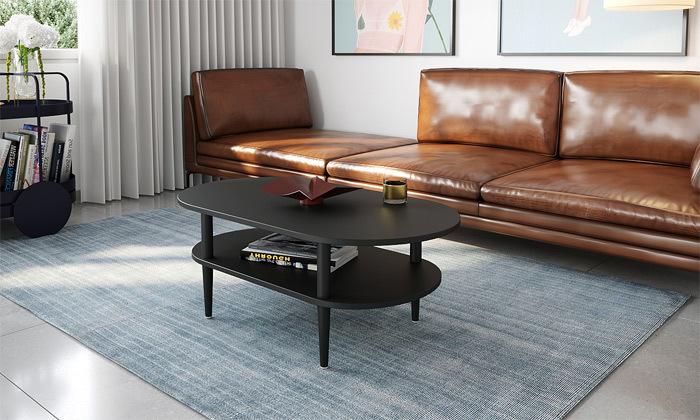 4 שולחן סלון אליפטי