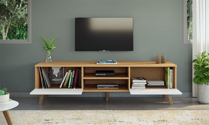 9 מזנון טלוויזיה רחב