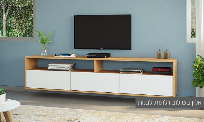 9 סט מזנון טלוויזיה ושולחן סלון