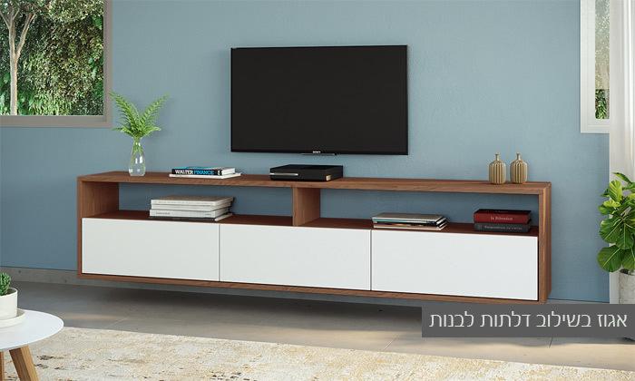 10 סט מזנון טלוויזיה ושולחן סלון