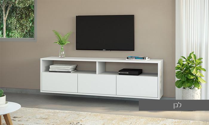 11 סט מזנון טלוויזיה ושולחן סלון