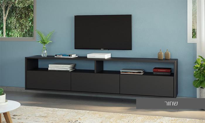 14 סט מזנון טלוויזיה ושולחן סלון