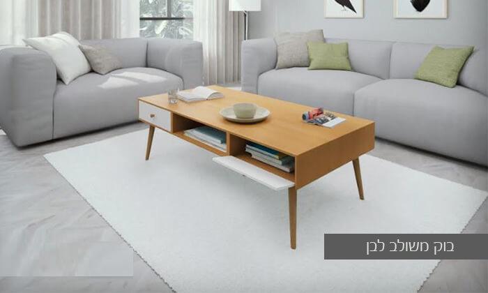 15 סט מזנון טלוויזיה ושולחן סלון