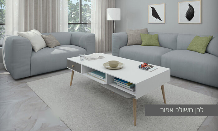 20 סט מזנון טלוויזיה ושולחן סלון