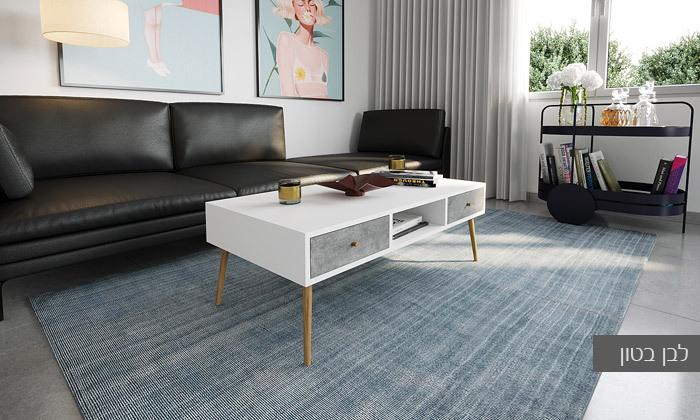 23 סט מזנון טלוויזיה ושולחן סלון
