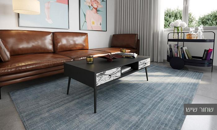 24 סט מזנון טלוויזיה ושולחן סלון